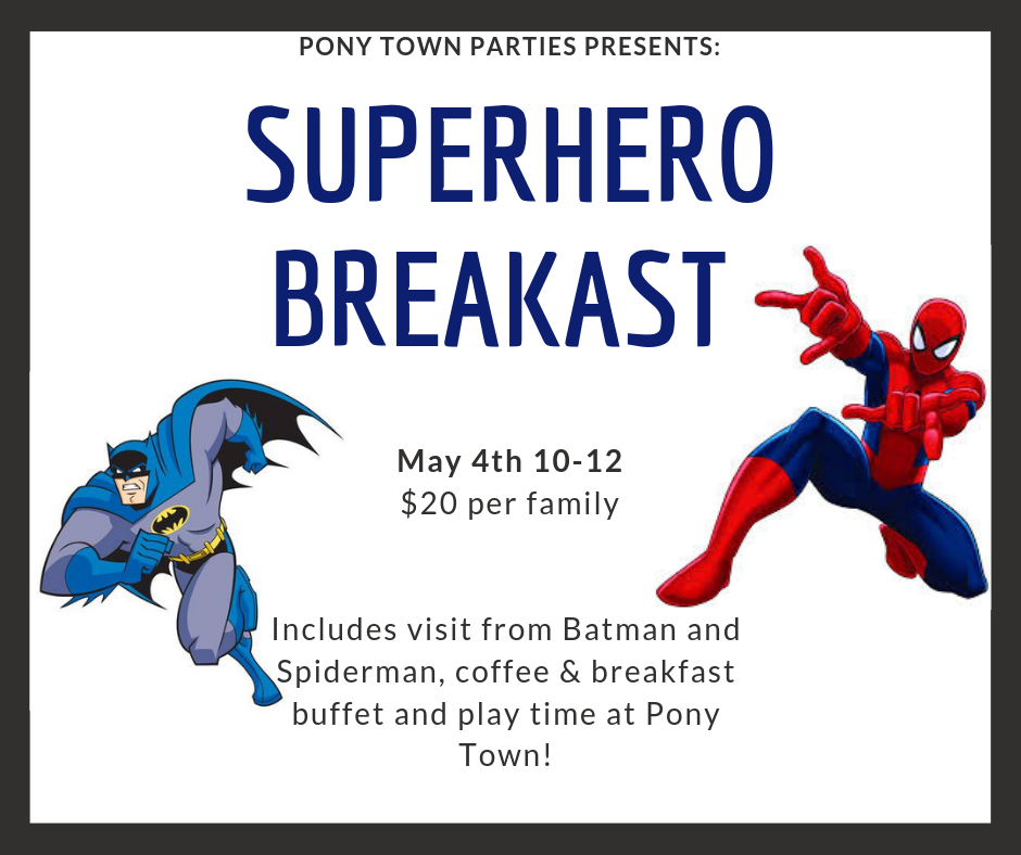 SUPERHERO BREAKAST