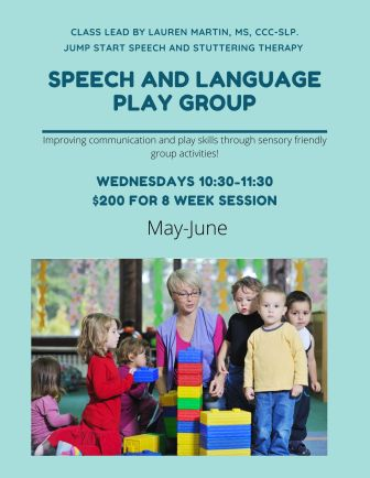 Speech and Language Play group
